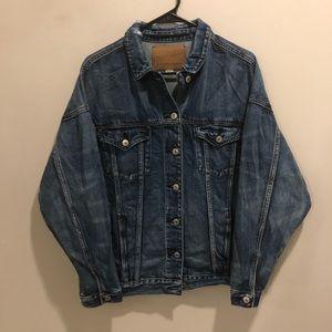 American Eagle denim jacket blue NWOT